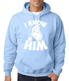 I know him Mens Hoodies White-Daataadirect
