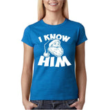 I know him Womens T Shirt White-Gildan-Daataadirect.co.uk