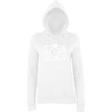 "I Love Photography Women Hoodies White-Hoodies-AWD-Arctic white-XS UK 8 Euro 32 Bust 30""-Daataadirect"