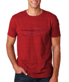 "I Loved Red Men T Shirts Red-T Shirts-Gildan-Antique Cherry-S To Fit Chest 36-38"" (91-96cm)-Daataadirect"