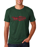 "I Loved Red Men T Shirts Red-T Shirts-Gildan-Forest Green-S To Fit Chest 36-38"" (91-96cm)-Daataadirect"