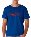 "I Loved Red Men T Shirts Red-T Shirts-Gildan-Royal Blue-S To Fit Chest 36-38"" (91-96cm)-Daataadirect"