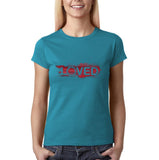 I Loved Red Women T Shirts White-Gildan-Daataadirect.co.uk