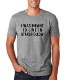 "I was meant to live in satrs hollow Black mens T Shirt-T Shirts-Gildan-Sport Grey-S To Fit Chest 36-38"" (91-96cm)-Daataadirect"