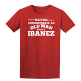 Ibanez Never Underestimate An Old Man Mens T-Shirt-Gildan-Daataadirect.co.uk