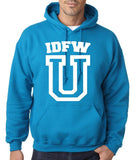 IDFW U Men Hoodies White-Gildan-Daataadirect.co.uk