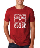 If you can read this Mens T Shirts White-Gildan-Daataadirect.co.uk