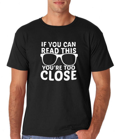 If you can read this Mens T Shirts White-Daataadirect