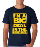 I'M a big deal in resistance Mens T Shirts Yellow-Gildan-Daataadirect.co.uk