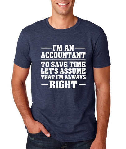 I'm an accountant Mens T Shirts White-Gildan-Daataadirect.co.uk