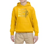 I'm here for the Boos Kids Hoodies Gold-Hoodies-Gildan-gold-YS (5-6 Year)-Daataadirect