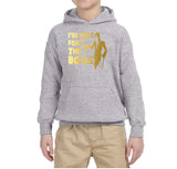 I'm here for the Boos Kids Hoodies Gold-Gildan-Daataadirect.co.uk