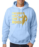 "I'm here for the Boos Mens Hoodies Gold-Hoodies-Gildan-light blue-S To Fit Chest 36-38"" (91-96cm)-Daataadirect"
