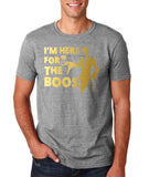 I'm here for your Boos Mens T Shirts Gold-Gildan-Daataadirect.co.uk