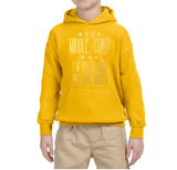 I'm Middle Child Reason for Rules Kids Hoodies Gold-Hoodies-Gildan-Gold-YS (5-6 Year)-Daataadirect