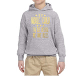 I'm Middle Child Reason for Rules Kids Hoodies Gold-Hoodies-Gildan-Sport Grey-YS (5-6 Year)-Daataadirect
