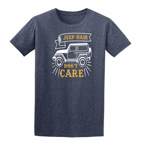 Jeep Hair Dont Care Mens T Shirts-t-shirts-Gildan-Colour-Size-Daataadirect
