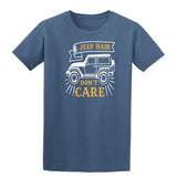 Jeep Hair Dont Care Mens T Shirts-t-shirts-Gildan-Indigo Blue-S-Daataadirect