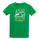 Jeep Hair Dont Care Mens T Shirts-t-shirts-Gildan-Irish Green-S-Daataadirect