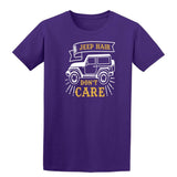 Jeep Hair Dont Care Mens T Shirts-t-shirts-Gildan-Purple-S-Daataadirect
