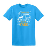 Jeep Hair Dont Care Mens T Shirts-t-shirts-Gildan-Sapphire-S-Daataadirect
