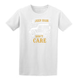 Jeep Hair Dont Care Mens T Shirts-t-shirts-Gildan-White-S-Daataadirect