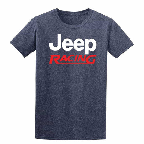 Jeep Racing Mens T-Shirt-Gildan-Daataadirect.co.uk