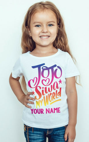 JOJO SIWA Girl Youtuber Singer T-shirt-Gildan-Daataadirect.co.uk