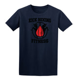 Kick Boxing Fitness Mens T Shirts-Gildan-Daataadirect.co.uk