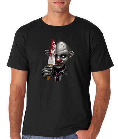"Killer Joker Men T Shirt-T Shirts-Gildan-Black-S To Fit Chest 36-38"" (91-96cm)-Daataadirect"