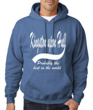 KINGSTON UPON HULL Probably The Best Mens Hoodies White-Gildan-Daataadirect.co.uk