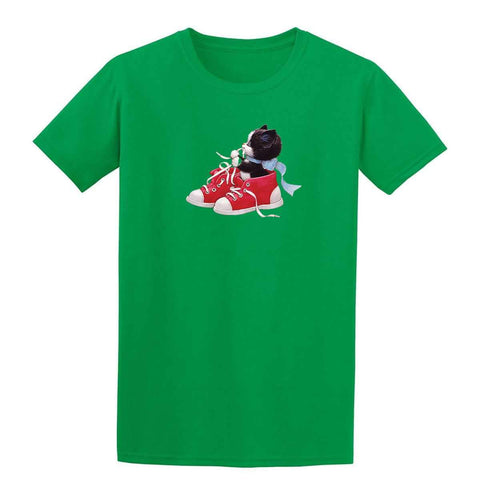 Kitten In Red Shoes 20217HD6 Kids T Shirt-Gildan-Daataadirect.co.uk