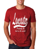 LANCASTER Probably The Best City In The World Mens T Shirts White-Gildan-Daataadirect.co.uk