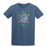 Life Doesnot Come With A Manual Mens T Shirts-Gildan-Daataadirect.co.uk
