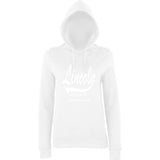LINCOLN Probably The Best City In The World Womens Hoodies White-AWD-Daataadirect.co.uk