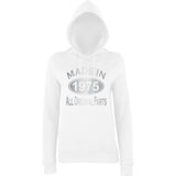 Made In 1975 All Orignal Parts Women Hoodies Silver-AWD-Daataadirect.co.uk