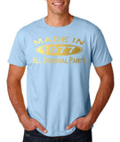 Made In 1977 All Original Parts Gold Mens T Shirt-Gildan-Daataadirect.co.uk
