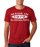 Made In 1979 All Original Parts White Mens T Shirt-Gildan-Daataadirect.co.uk