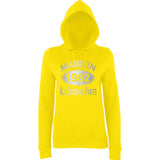 Made In 1982 All Orignal Parts Women Hoodies Silver-AWD-Daataadirect.co.uk