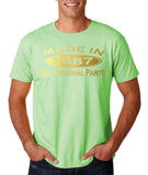 Made In 1987 All Original Parts gold Mens T Shirt-Gildan-Daataadirect.co.uk
