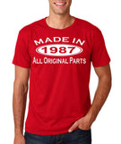 Made In 1987 All Original Parts White Mens T Shirt-Gildan-Daataadirect.co.uk