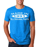Made In 1991 All Original Parts White Mens T Shirt-Gildan-Daataadirect.co.uk