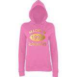 Made In 1991 All Orignal Parts Women Hoodies Gold-AWD-Daataadirect.co.uk