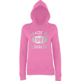 Made In 1997 All Orignal Parts Women Hoodies Silver-AWD-Daataadirect.co.uk