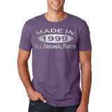 Made In 1999 All Original Parts Silver Mens T Shirt-Gildan-Daataadirect.co.uk