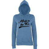 Made In 90 Classic Women Hoodies Black-AWD-Daataadirect.co.uk