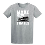 Make New Trails Mens T Shirts-Gildan-Daataadirect.co.uk