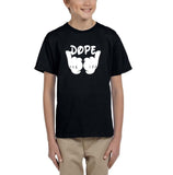 Mickey Hands - Dope Kids T Shirt Gold-Gildan-Daataadirect.co.uk