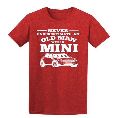 Dodge Never Underestimate an Old Man  Mens Hoodies