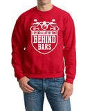 Motorbike spend a lot of time Mens SweatShirt White-Gildan-Daataadirect.co.uk